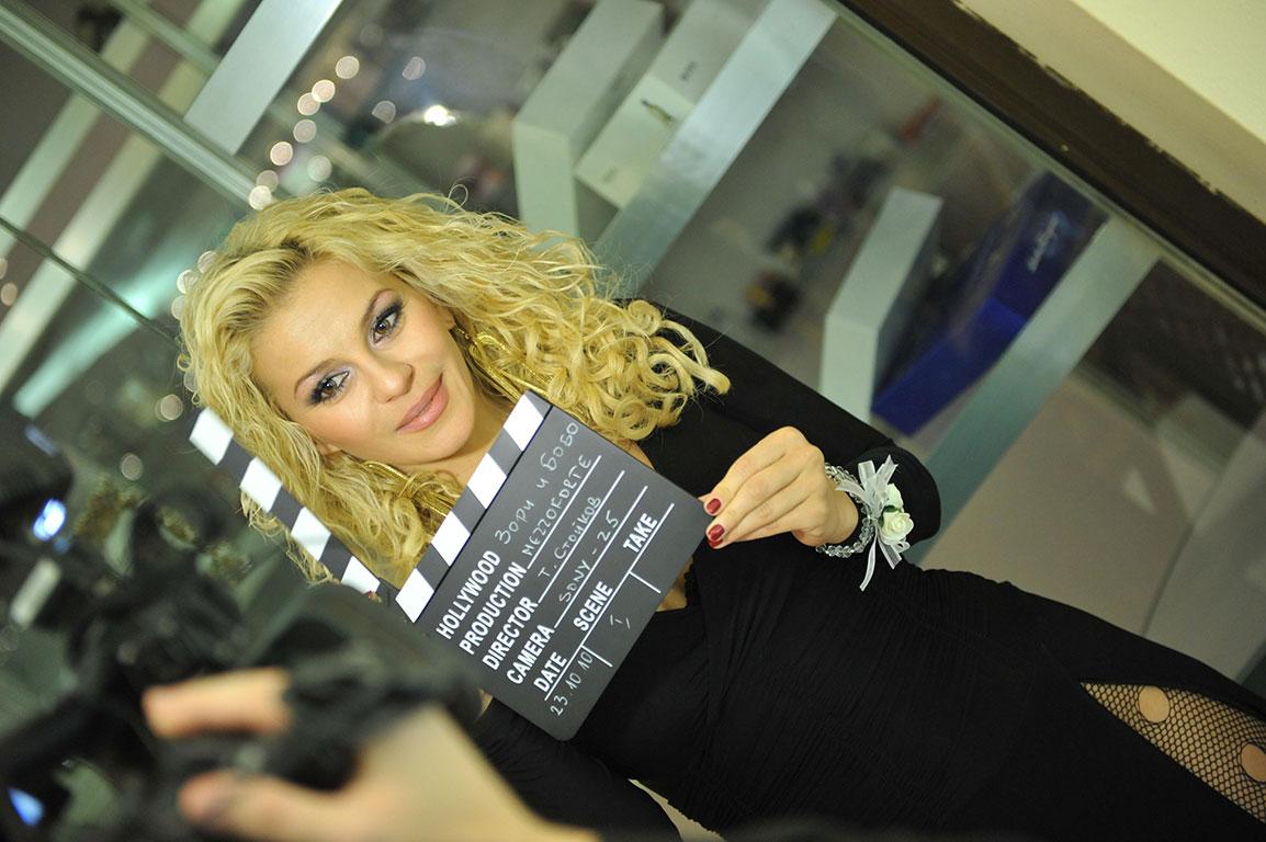 Деси Слава - заснемане на сватба с певицата, Мецофорте видео